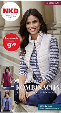 NKD katalog Bistra kombinacija od 16. 08.