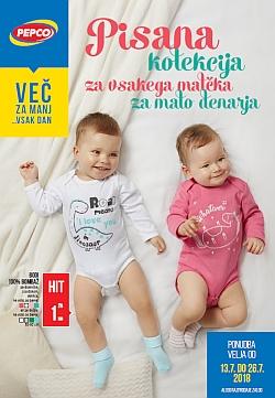 Pepco katalog Pisana kolekcija za malčke