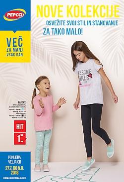 Pepco katalog Nove kolekcije do 09. 08.