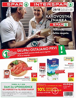 Spar in Interspar katalog do 17. 07.
