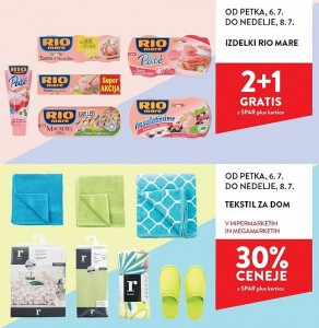 Spar in Interspar vikend akcija do 08. 07.