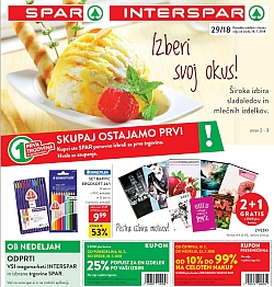 Spar in Interspar katalog do 24. 07.