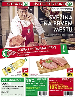 Spar in Interspar katalog do 31. 07.