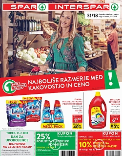 Spar in Interspar katalog do 07. 08.