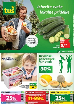 Tuš katalog trgovine in franšize do 09. 07.