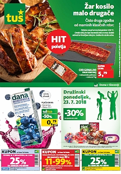 Tuš katalog trgovine in franšize do 23. 07.