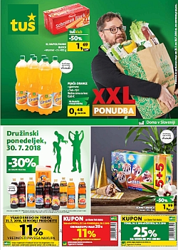 Tuš katalog trgovine in franšize do 30. 07.