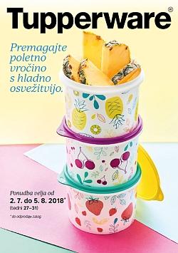 Tupperware katalog julij 2018