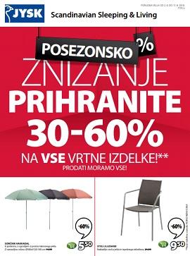 JYSK katalog Znižanje
