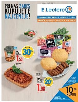 E Leclerc katalog Ljubljana do 19. 08.