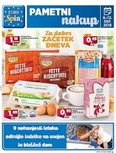Eurospin katalog do 12. 09.