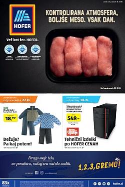 Hofer katalog od 23. 08.