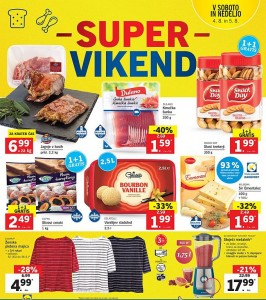 Lidl super vikend do 05. 08.