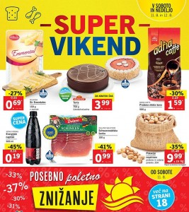 Lidl super vikend do 12. 08.