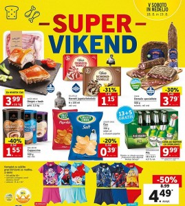 Lidl super vikend do 19. 08.