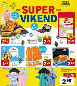 Lidl super vikend do 26. 08.