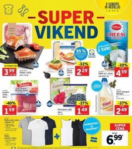 Lidl super vikend do 02. 09.