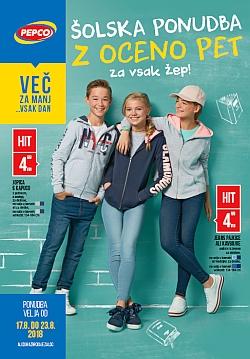 Pepco katalog Šolska ponudba do 23. 08.