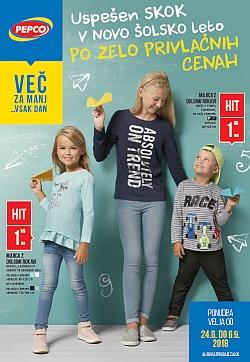 Pepco katalog Novo šolsko leto