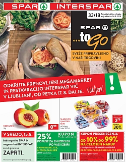 Spar in Interspar katalog do 21. 08.