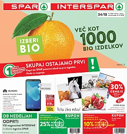 Spar in Interspar katalog do 28. 08.