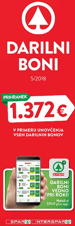 Spar in Interspar katalog Boni 05/18