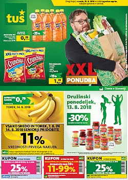 Tuš katalog trgovine in franšize do 13. 08.