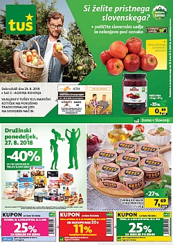 Tuš katalog trgovine in franšize do 27. 08.