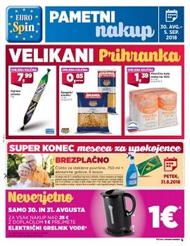 Eurospin katalog do 05. 09.