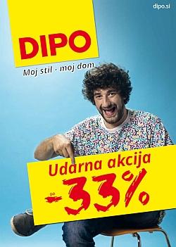 Dipo katalog Udarna akcija do – 33 %