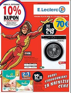 E Leclerc katalog Maribor do 07. 10.