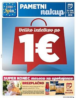 Eurospin katalog do 03. 10.