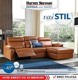Harvey Norman katalog Nova kolekcija jesen in zima