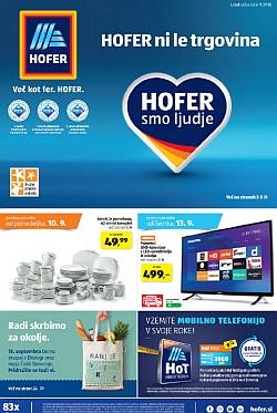Hofer katalog od 06. 09.