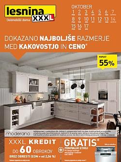 Lesnina katalog Kuhinje do 17. 10.