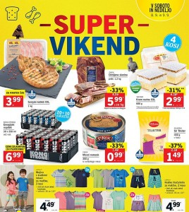 Lidl super vikend do 09. 09.