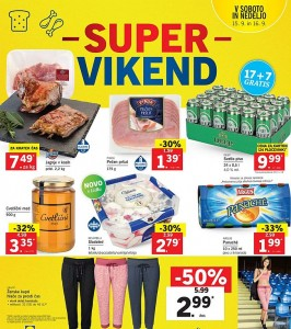 Lidl super vikend do 16. 09.