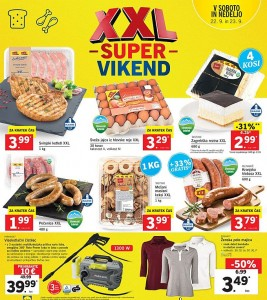 Lidl super vikend do 23. 09.