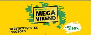 Merkur akcija Mega vikend do 29. 09.