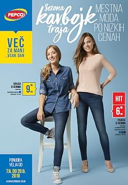 Pepco katalog Mestna moda po nizkih cenah