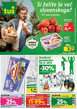 Tuš katalog trgovine in franšize do 10. 09.