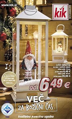 KIK katalog Več za božični čas