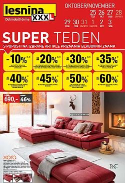 Lesnina katalog Super teden do 03. 11.