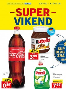 Lidl super vikend do 07. 10.