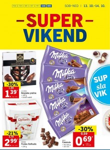 Lidl super vikend do 14. 10.