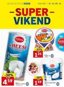 Lidl super vikend do 28. 10.