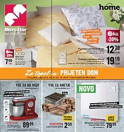 Mercator katalog Za topel in prijeten dom