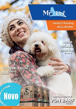 Mr Pet katalog oktober 2018