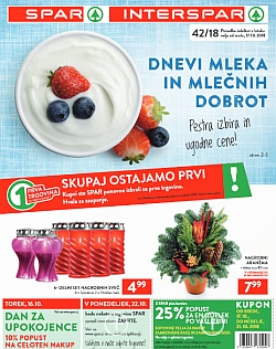 Spar in Interspar katalog do 23. 10.