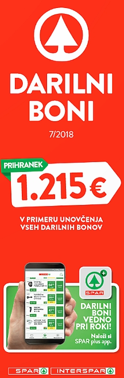 Spar in Interspar katalog Boni 07/2018